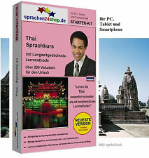 Thai - Starter Kit, Language course for your Holiday in Thailand
