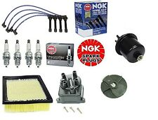 Complete Tune Up Kit Filters,Cap,Rotor,NGK Wires & Plugs Civic EX 1.6 D16Y8