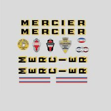 Mercier Bicycle Frame Stickers - Decals - Transfers n.0306