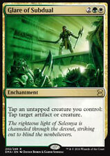 MTG GLARE OF SUBDUAL FOIL EXC - SGUARDO DI SOTTOMISSIONE - EMA - MAGIC