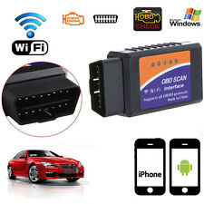 ELM327 WiFi V1.5 OBD2 II For iPhone Android PC Notebook Car Diagnostic Scanner