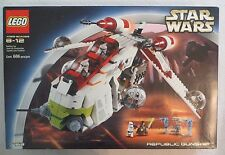 LEGO Star Wars 7163 Republic Gunship (2002) NEW Sealed FREE Shipping! MIB NIB