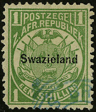 Swaziland   1889   Scott # 5   USED