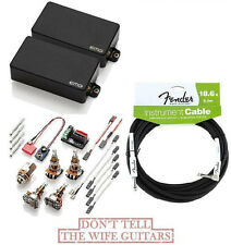 EMG ZW SET ZAKK WYLDE 81 + 85 ( FREE WORLDWIDE SHIPPING & FENDER 18FT CABLE  )