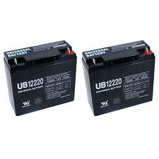 UPG 2 Pack - 12V 22AH Battery for Electric Mobility Rascal Veo X Scooter