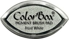 Frost White Cats Eye Pigment Inkpad Clearsnap Colorbox Embossable Stamping Ink