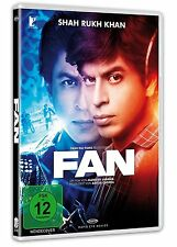FAN (Shah Rukh Khan) Bollywood, ERSTAUFLAGE mit POSTER, DVD NEU + OVP!