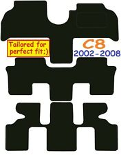Citroen c8 Tailored car mats ** Deluxe Quality ** 2002-2008 7 seater MPV