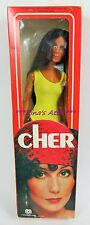 Vintage Mego 1976 CHER Doll in YELLOW SWIMSUIT 12""
