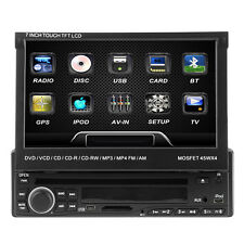 "ouku 7 "" precipitare 1Din CD Autoradio DVD Stereo Touch Radio FM staccabile"