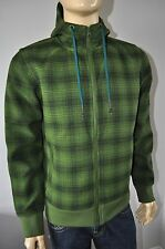 NEW THE NORTH FACE OUTBOUND SAGE PLAID GREEN OUTDOOR JACKET MEN`S Size MEDIUM