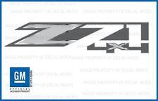 set of 2: 2014 GMC Sierra Z71 4x4 Decals bed stickers - FMT metallic strip truck