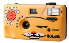 Holga Orange Cat 35mm Nya-Nya Noise Making 35mm Film Camera K-202 (K-205)