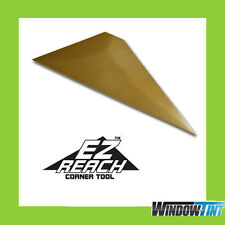 EZ-Reach Gold Window Tinting Corner Tool Hard Card Squeegee