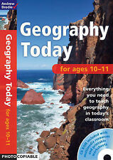 Geography Today 10-11 (Book & CD Rom), Brodie, Andrew, New Book