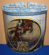 Lord of the Rings Warriors & Battle Beast Gandorian Horseman MIB
