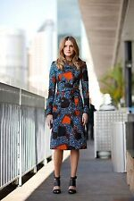 $2,995 Burberry Prorsum Eclectic Print Multi Color 8 42 Trench Coat Women Lady