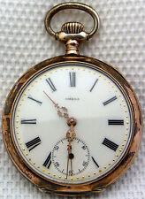 Eine schöne alte Taschenuhr Omega 800/-Silber  um 1900 Top!!