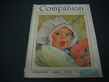 Woman's Home Companion Magazine, September 1934, Great Cover Art, Great Ads
