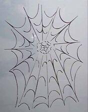Airbrush Schablone A4 009 Spinnennetz