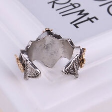 US Film Vintage Hobbit Lord of the Rings Aragorn Crown Silver Ring Hot Sell New