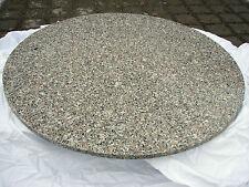 große runde Naturstein Tischplatte D=180cm Granit f. innen & aussen massiv NEU