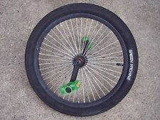 Huffy Green Machine 20 Inch Front Wheel w Tire Tube Pedals Used Good Condition