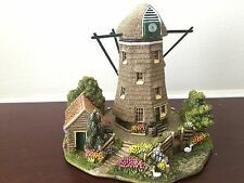 Lilliput Lane Dutch Windmill Hollandse Poldermolen Damaged w/ original box Deed