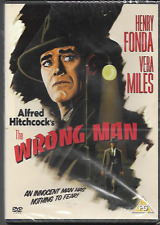 THE WRONG MAN BY ALFRED HITCHCOCK GENUINE R2 DVD HENRY FONDA NEW/SEALED