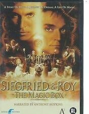 DVD - SIEGFRIED & ROY - THE MAGIC BOX - STORY OF SUCCESS - ENGLISH / NL region 2