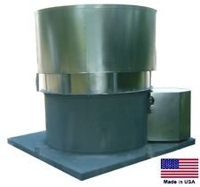"ROOF VENTILATOR EXHAUST FAN - 18"" - 1/2 Hp - 230/460V - 3 Ph - 3850 CFM  OAS"