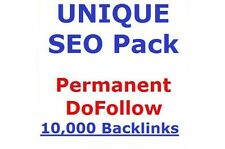 10.000+ PERMANENT, DoFollow,Verified Backlinks TOP AUTHORITY ,High PR ! SEO !