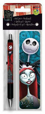 THE NIGHTMARE BEFORE CHRISTMAS - GEL PEN & BOOKMARK - BRAND NEW MOVIE 3520