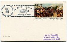 1987 Lt. Col. John Glenn National Guard Heritage Wolverine Stamp Club NASA USA