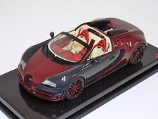 1/18 MR Collection Bugatti Veyron Vitesse Le Finale on Carbon Fiber Base