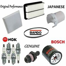 Tune Up Kit Spark Plugs Cabin Air Oil Filters for Toyota Celica 1.8L 1999-2005