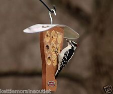Kettle Moraine Recycled Milk Jug Peanut Butter Woodpecker Wild Bird Feeder 8331C