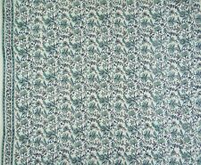 Cotton Voile Hand Block Print Sewing Indian Fabric Material Crafting By The Yard