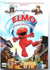 Dvd Le avventure di Elmo in Brontolandia 1999 Muppets Usato raro fuori cat.