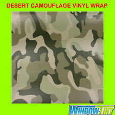 2x A4 Sheets Desert Camouflage Camo Car Wrap Vinyl Sheet