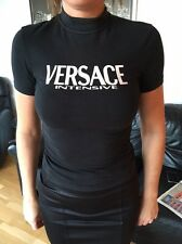Versace Black Ladies Stretchy Top Size 8/10
