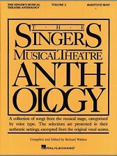 Piano-Vocal: Singer's Musical Theatre Anthology Vol. 2 : Baritone - Bass...NEW