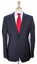 * HUGO BOSS * 2016 The Grand/Central Solid Dark Gray 2-Btn Luxury Wool Suit 40L