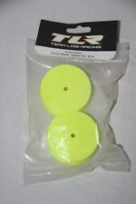 TLR TEAM LOSI - 2 Jantes jaunes avant 22-4  56 X21 mm  hex 12 mm TLR43004