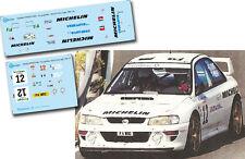 Decal 1:43 Bert de Jong - SUBARU IMPREZA WRC - Rally El Corte Ingles 1998