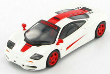 McLaren F1 GTR (White with Red Flashes) 1:43