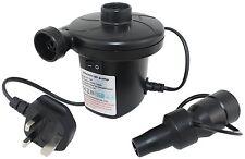 Voiture électrique air gonfleur matelas piscine pompe déflateur camping 240 secteur plug