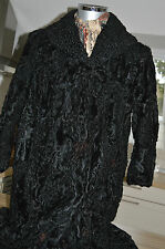 echtpelz Persianer Damen Mantel Lady Fur Coat Pelz Nerz КАРАКУЛЕВАЯ ШУБА TOP