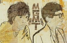 MGMT Poster Limited Edition of 100 -  13x19 inches
