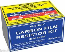 465pc Combo Capacitor and 1/2W Resistor Assortment Kit Elenco RCK-465